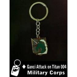 Gantungan Kunci Attack Of Titan Military Corps