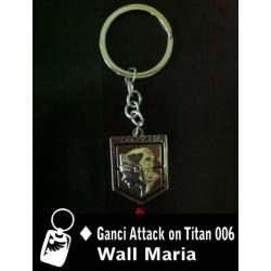 Gantungan Kunci Attack Of Titan Wall Maria