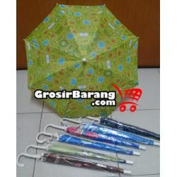 Payung Anak-Anak Motif Warna-Warni Lucu