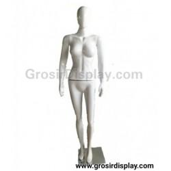 Patung Manekin Alien Cewe Full Body Wanita Fiber Display Baju Perlengkapan Toko Butik