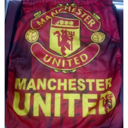 Tas Serut Klub Bola Manchester United Ransel MU Kualitas Tinggi
