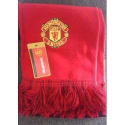 High Quality Syal Klub Manchester United Scarf Aksesoris Bola
