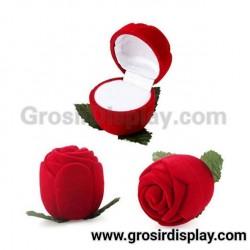 Kotak Display Cincin Bentuk Mawar Kecil Pajangan Display Seserahan Lamaran Perlengkapan Pernikahan
