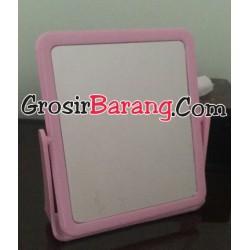 Cermin Duduk Kotak Cermin Make Up Meja Rias Kaca Putar Bolak Balik