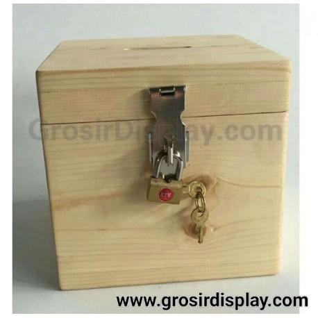 Kotak Amal Box Kayu Tempat Tips dan Saran