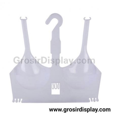 Hanger Bra Cup Plastik Pajangan BH Display Pakaian Dalam Wanita