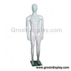 Patung Manekin Badan Cowo Full Body Pria Fiber Display Baju Perlengkapan Toko Butik Distro