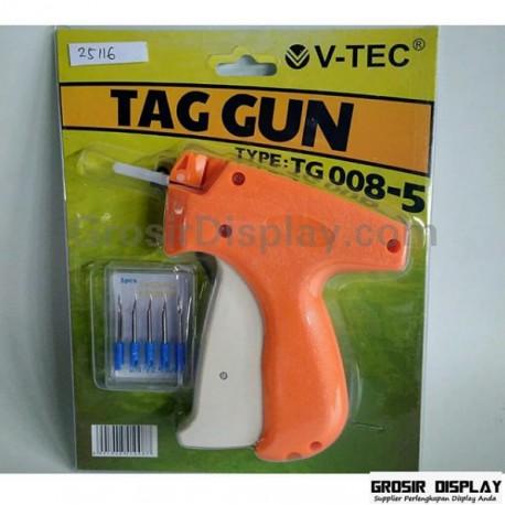 Tag Gun V-Tec TG 008 Tembakan Bandrol Harga Merk Tag Gun Baju
