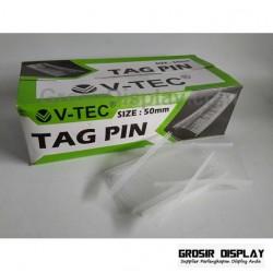 Tag Pin Refill Isi Ulang Tag Gun V-Tec 50 mm Penanda Label Merk Baju