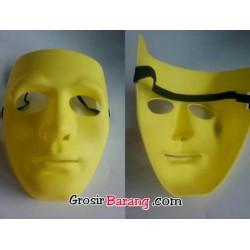 Topeng Jabbawockeez Tebal Super Murah Kualitas Tinggi Warna Kuning