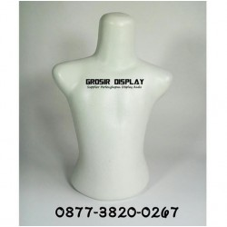 Manekin Setengah Badan Patung Anak Body Display Baju Toko Beby Shop