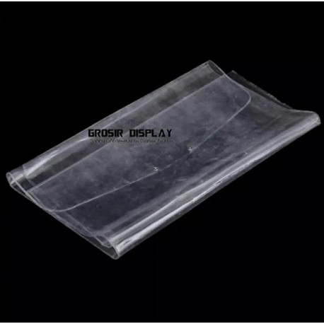 Plastik Pelindung Debu 55 x 100 cm Cover Mika Tebal Kaos Jersey Panjang