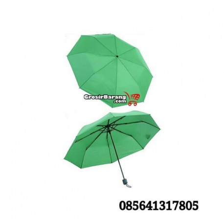 Sablon Payung Lipat 3 Payung Mini Simple Prakris Warna-Warni