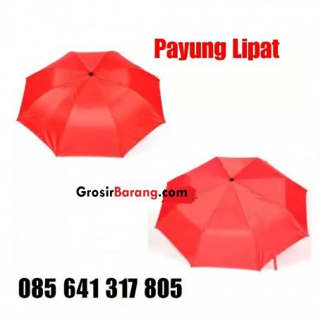 Payung Lipat 3 Super Polos Payung Mini Simple Souvenir Pernikahan