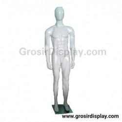 Patung Manekin Badan Cowo Full Body Pria Fiber Tangan Lepasan Display Baju Perlengkapan Toko Butik Distro