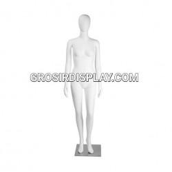 Patung Manekin Cewe Full Body Wanita Fiber Super Display Baju Perlengkapan Toko Butik
