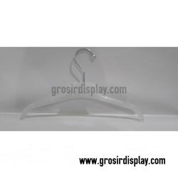 Hanger Jas Kecil Putih 12'' JS-12 Perlengkapan Toko Butik
