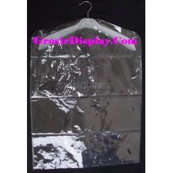Hanger Plastik Mika Pelindung Baju Pakaian