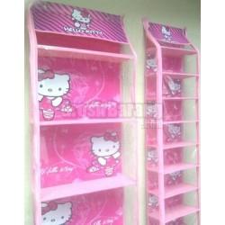 Tempat Gantungan Sepatu Vinyl Kartun Hello Kitty LV
