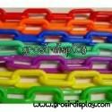 Gantungan Rantai Plastik Warna Tebal