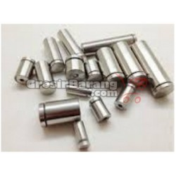 Pen Iklan 16 x 50 Baut Stabil Kaca Sekrup Acrylic Dinding