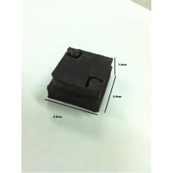 Siku Karet Kotak Ukuran 2,9 cm Siku Tangga Meja