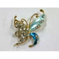 Bros Butterfly Kupu-Kupu Aksesoris Jilba Hijab Krudung