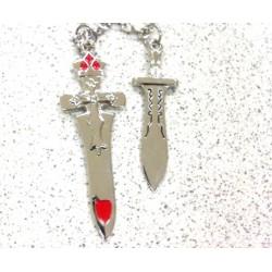 Kalung Couple Liontin Pedang High Quality Aksesoris Korea
