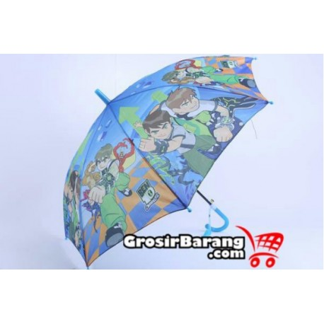 Payung Motif Kartun Ben10 Grosir Payung Anak Murah