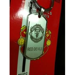Gantungan Kunci Mancester United Silver Klub Bola Mu